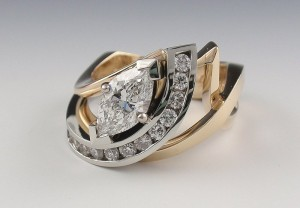 Custom Yanke Designs Jewelry Bridal Ring