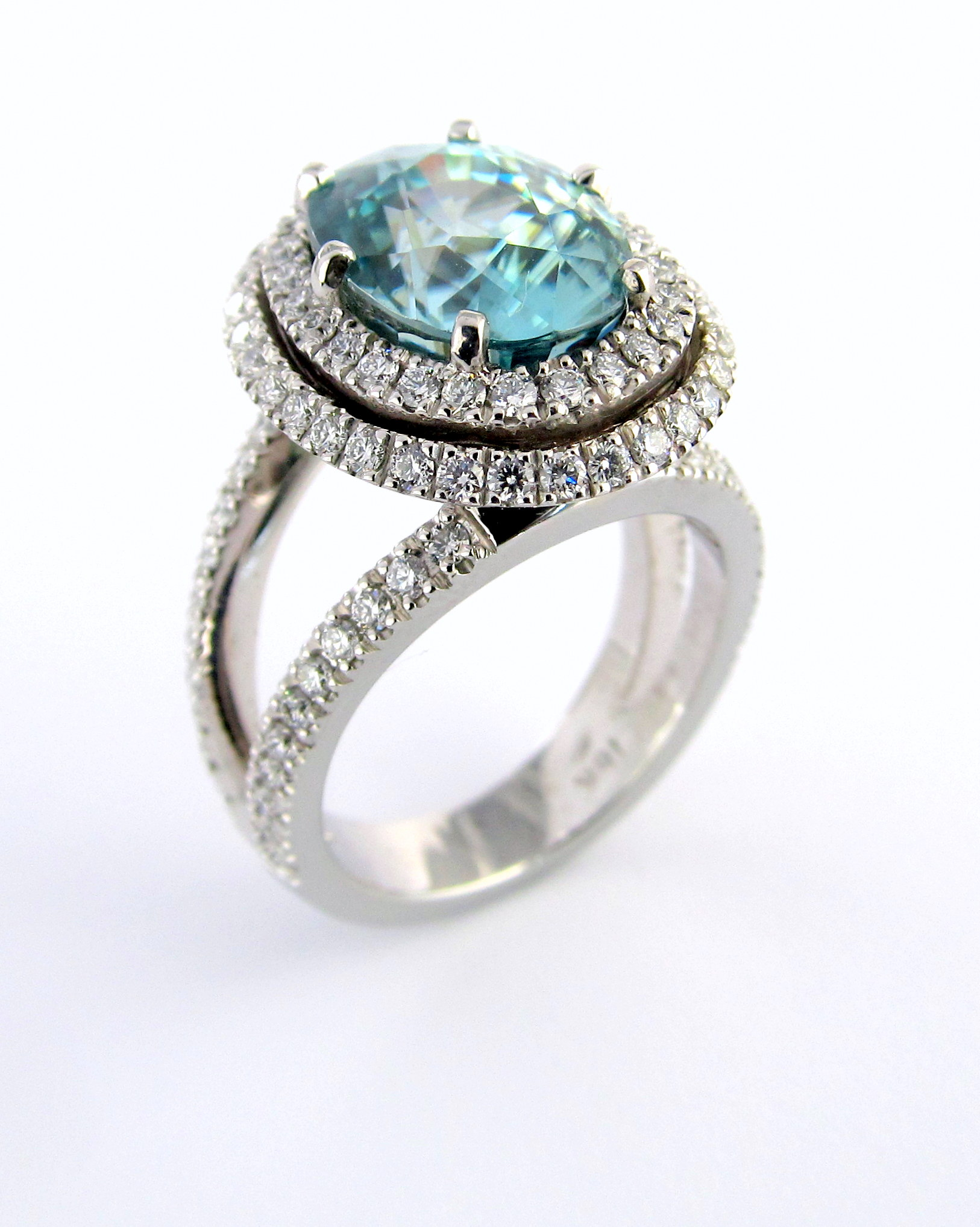 collection pure summer rings fine jewelry ring silver sapphire sterling finger blue women stone