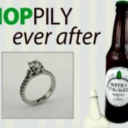 Hoppily Ever After Custom Designed Engagement Ring