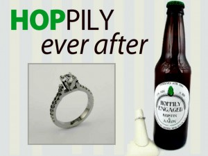 Hoppily Ever After Engagement Ring